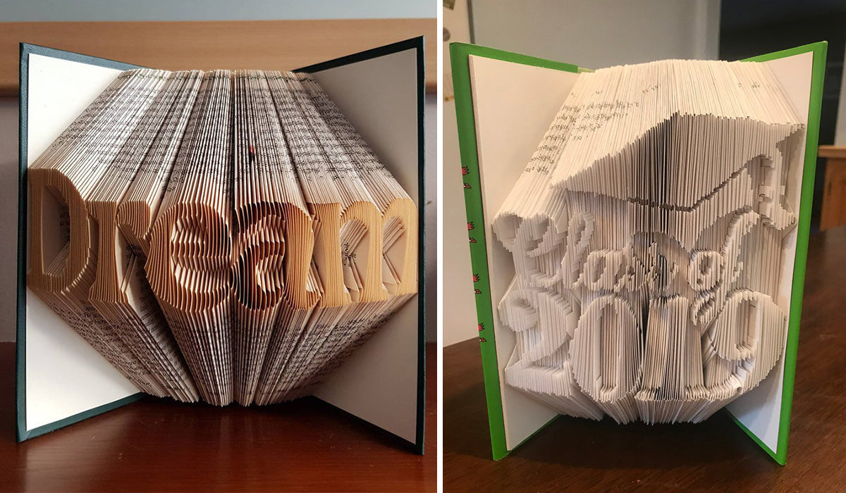 Book Art decor piece as a graduation gift