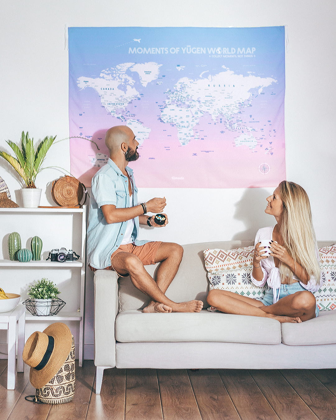 How UMade World Map Is Helping Us to Plan Our Travels