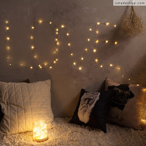 ★Shining Stars String Lights★ The Perfect Match with your World Map