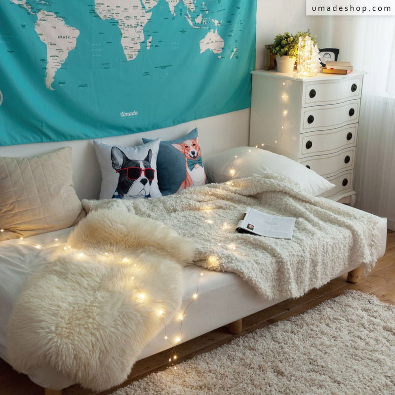 ★Shining Stars String Lights★ The Perfect Match with your Japan Map