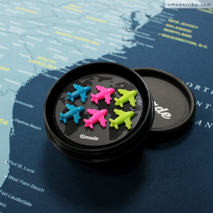 NEW! Fly Away Magnetic Planes✈️ Designed exclusively for your UMap