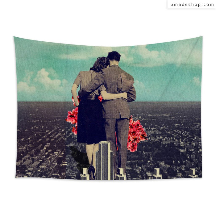 ★Wall Tapestry★ Together (Horizontal) - Frank Moth