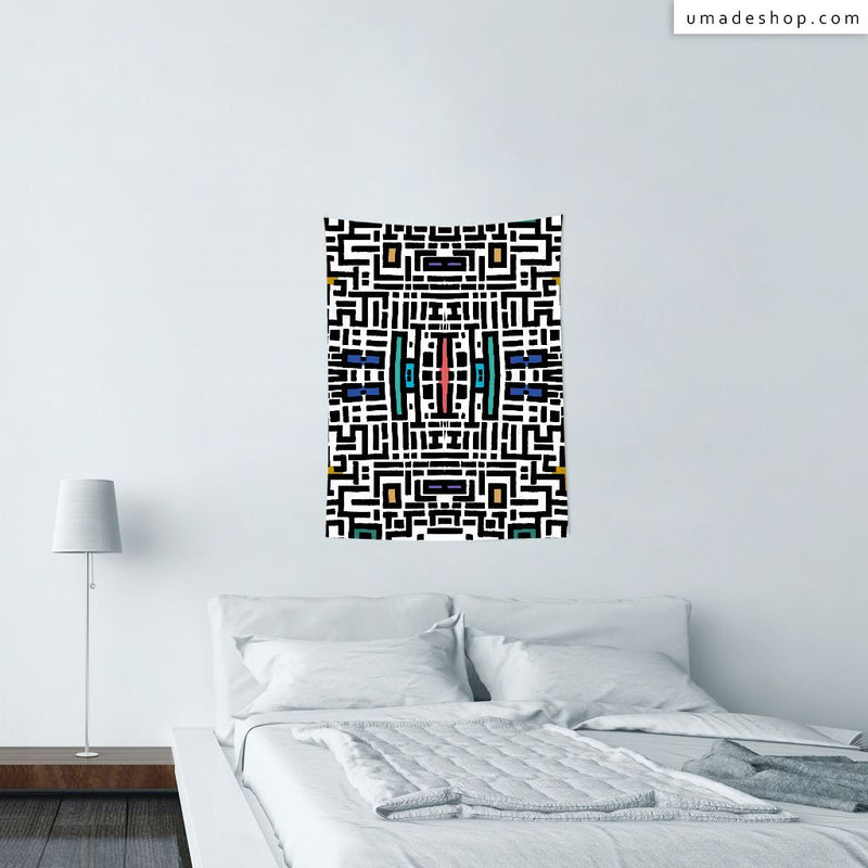 ★Wall Tapestry★ City Center In Summer - Barruf