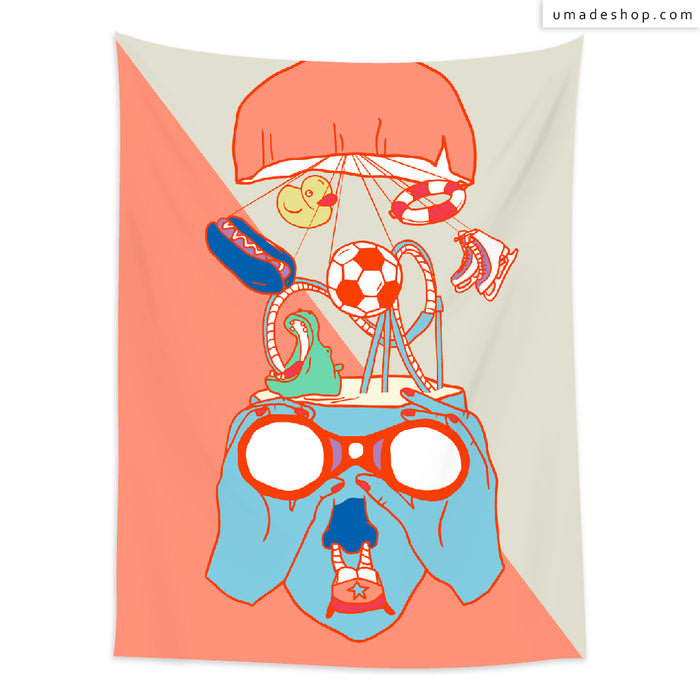 ★Wall Tapestry★ Holiday is far far away - Pidang Wu