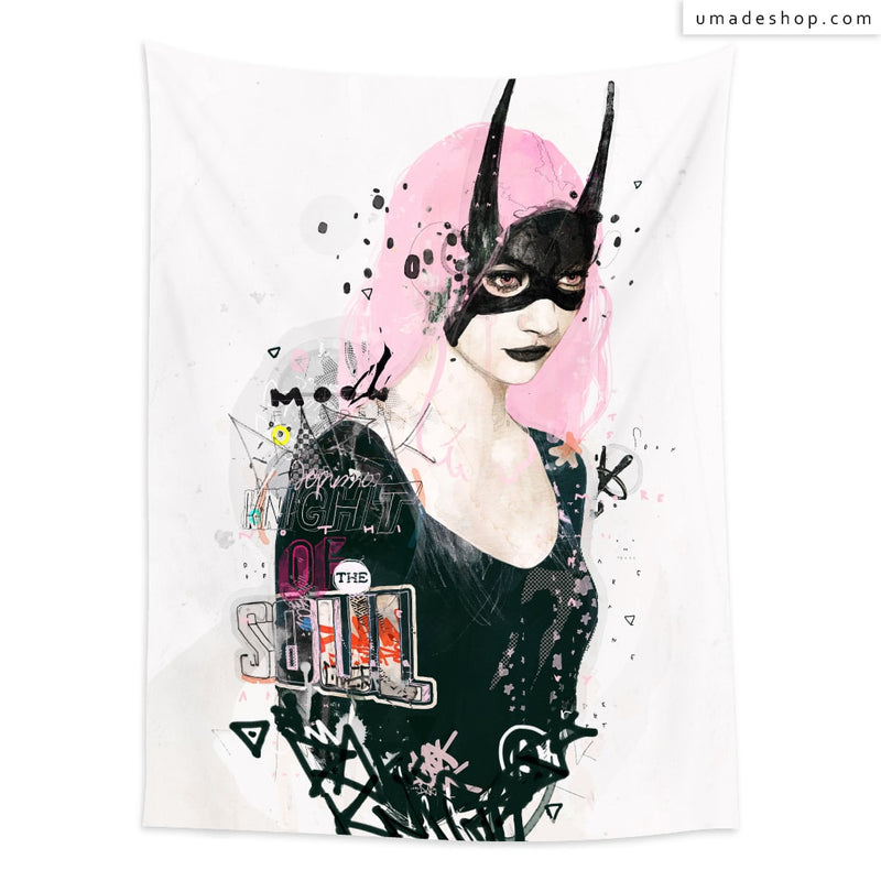 ★Wall Tapestry★  Dark Knight of the Soul - Raphaël Vicenzi