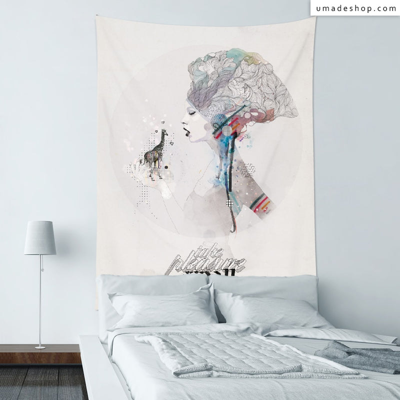 ★Wall Tapestry★ Take Pleasure in Small Things - Raphaël Vicenzi