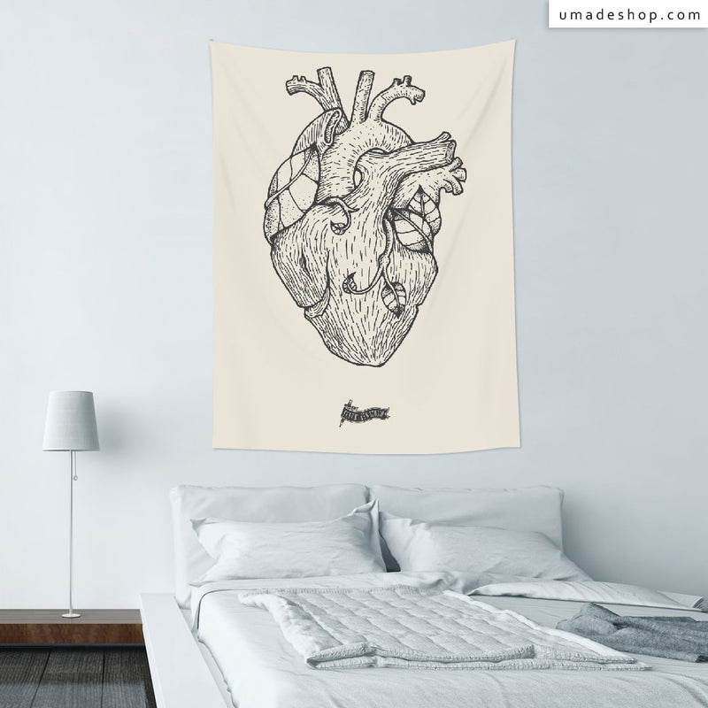 ★Wall Tapestry★ Tree Heart - Seventeen