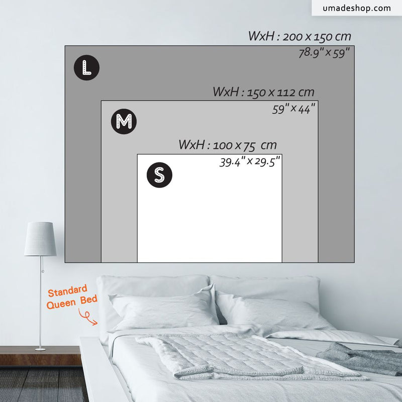 ★Wall Tapestry★ When You Don't Feel Like Doing Anything - WD