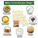 BEESWAX FOOD WRAPS SET