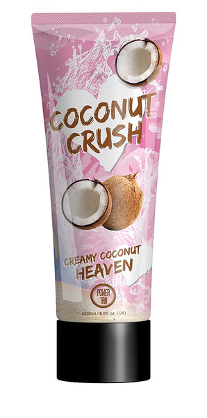 Power Tan Coconut Crush Sunbed Tanning Lotion Cream Accelerator 250 ml