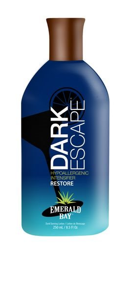 Emerald Bay Dark Escape Hypoallergenic Intensifier Sunbed Tanning Lotion Cream 250ml
