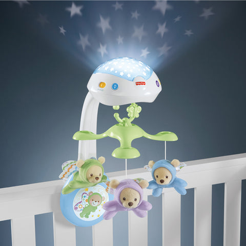Fisher-Price Butterfly 3 in 1 Projector Mobile