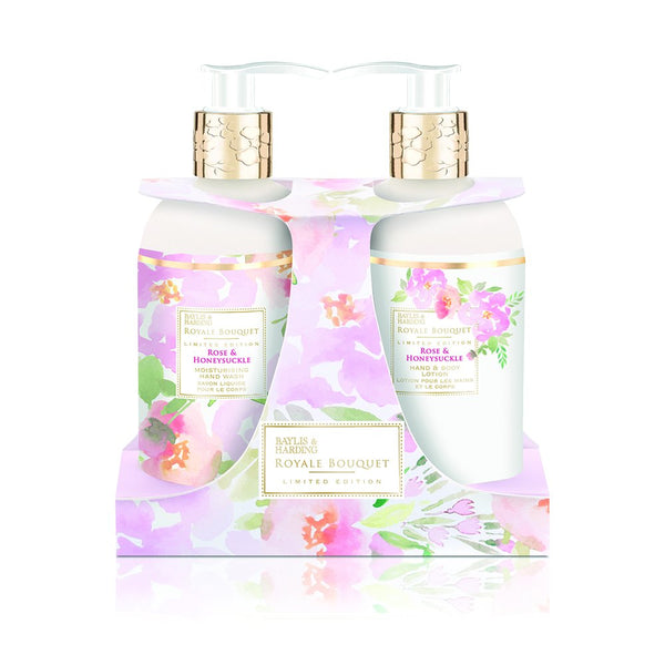 Baylis and Harding - ROYAL BOUQUET ROSE & HONEYSUCKLE TWIN SET