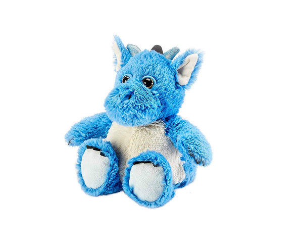 Warmies Cozy Plush Blue Dragon Fully Microwavable Toy