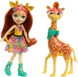 Enchantimals Large Giraffe and Gillian Doll