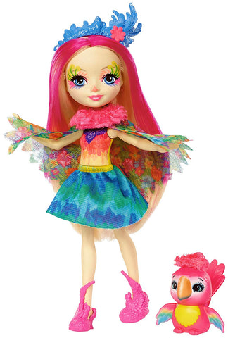 Enchantimals Peeki Parrot Doll