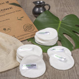 REUSABLE MAKEUP BAMBOO COTTON PADS
