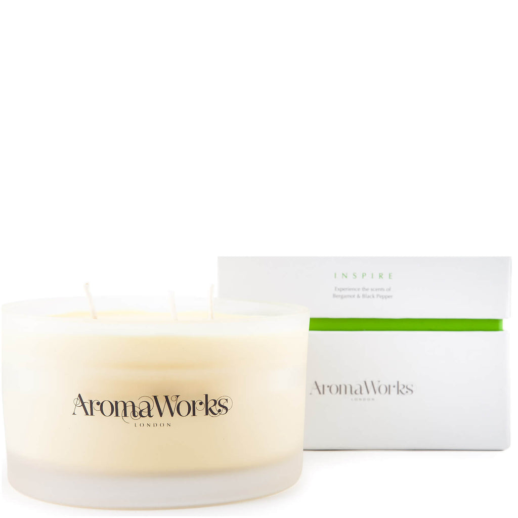 AromaWorks Inspire 3 Wick Candle