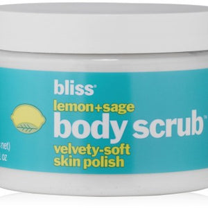 Bliss Lemon + Sage Polish Body Scrub - 340g