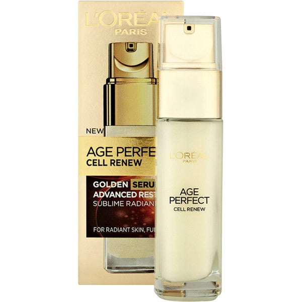 L'Oreal Paris Anti-Ageing Age Perfect Cell Renew Golden Serum Advanced Resolution (Unboxed)