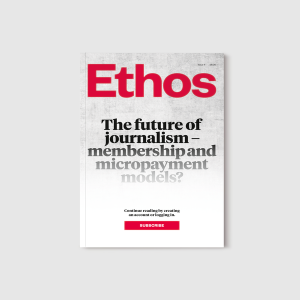 Ethos magazine - issue 11 (wholesale only)