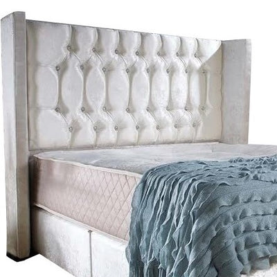 Mayfair Chesterfield Wingback Bespoke Headboard-Headboard-Chic Concept