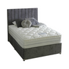 Vertical Panelled Bespoke Divan Storage Bed-Bed-Chic Concept