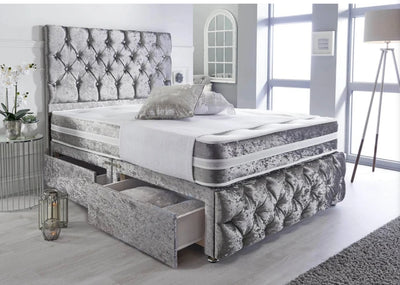 Modern Chesterfield Divan Storage Bed-Bed-Chic Concept