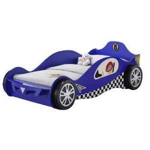 Children's 3FT Single Kids McLaren F1 Blue Racing Car Bed Frame-Children's Bed-Chic Concept