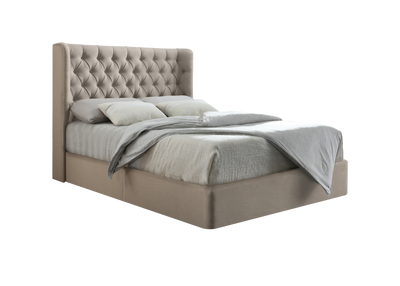 Duke Chesterfield Wing Bespoke Divan Storage Bed-Bed-Chic Concept