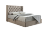 Duke Chesterfield Wing Bespoke Ottoman Bed-Bed-Chic Concept