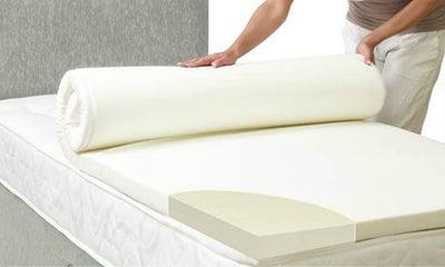 "3FT Single Orthopaedic Memory Foam Mattress Toppers 1"",2"",3"" & 4 Thickness-Mattress Topper-Chic Concept"