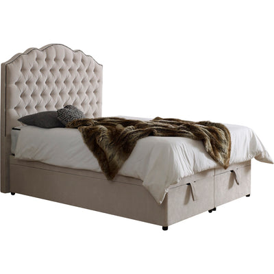 Amelia Chesterfield Bespoke Ottoman Bed-Bed-Chic Concept