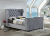 Majestic Chesterfield Upholstered Sleigh Bed-Sleigh Bed-Chic Concept