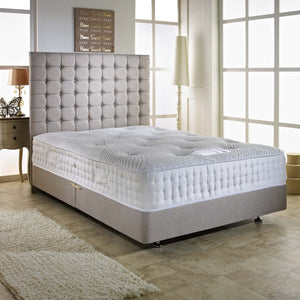 3FT Single - Contour 3000 Pocket Sprung Latex Hand Stitched Border Mattress-Pocket Sprung Mattress-Chic Concept