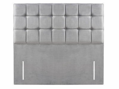 "Modern Bespoke Cubic Large Buttoned 54"" Floor Standing Headboard-Headboard-Chic Concept"