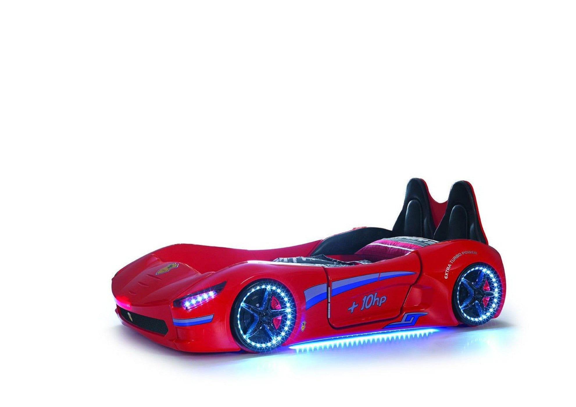 Children S Novelty Cabrio Race Car Bed Red 3ft Single Chic Concept