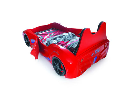 Children's Novelty Cabrio Race Car Bed Red-3FT Single-Children's Bed-Chic Concept