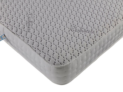3FT Single- Cashmere Memory Foam Open Coil Orthopaedic Spring Unit Quilted Border Mattress-Orthopaedic Mattress-Chic Concept