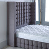 New Modern Bespoke Tall Cubic Wing Fabric Upholstered Headboard-Headboard-Chic Concept