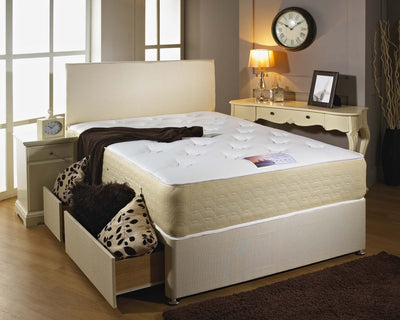 Double Decker Dual Sided Cotton Border Mattress-Orthopaedic Mattress-Chic Concept