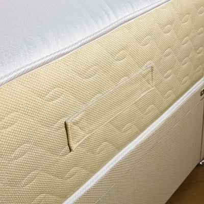 3FT Single- Double Decker Dual Sided Cotton Border Mattress-Orthopaedic Mattress-Chic Concept