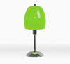 Modern Umbrella Chrome Base Lime Green Table Lamp-Table Lamp-Chic Concept