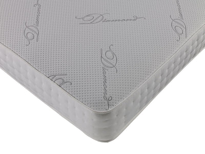 3FT Single -Diamond Open Coil Memory Foam Orthopaedic Stretch Fabric Quilted Mattress-Orthopaedic Mattress-Chic Concept