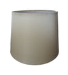 Cream Silk Fabric Empire Drum Shade-Lamp Shades-Chic Concept