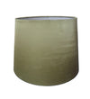 Olive Silk Fabric Empire Drum Shade-Lamp Shades-Chic Concept