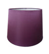 Plum Silk Fabric Empire Drum Shade-Lamp Shades-Chic Concept