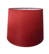 Cranberry Silk Fabric Empire Drum Shade-Lamp Shades-Chic Concept