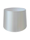 White Silk Fabric Empire Drum Shade-Lamp Shades-Chic Concept