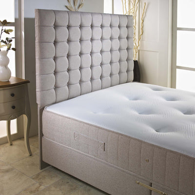 3FT Single - Imperial 2000 Pocket Sprung 4 Way Stretch Fabric Border Mattress-Pocket Sprung Mattress-Chic Concept